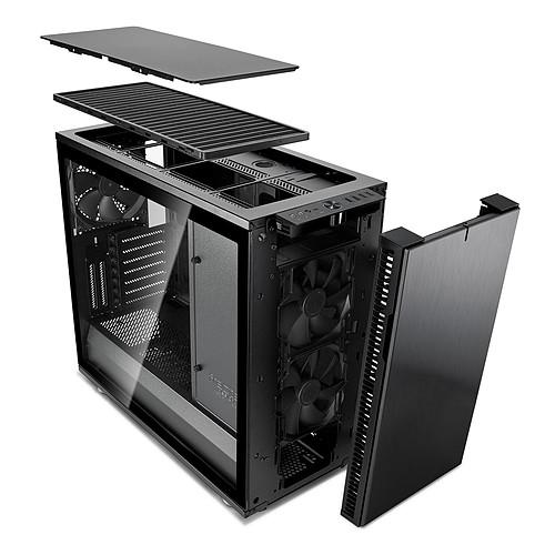 Fractal Design Define R6 USB-C TG Blackout pas cher