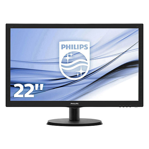 """Philips 21.5"""" LED - 223V5LHSB pas cher"""