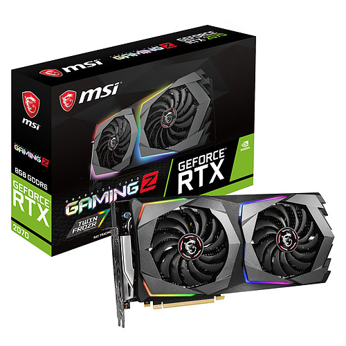 MSI GeForce RTX 2070 GAMING Z 8G pas cher