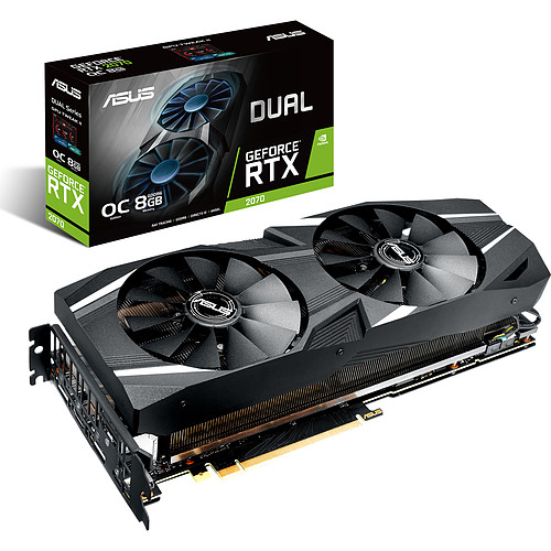 ASUS GeForce RTX 2070 - DUAL-RTX2070-O8G pas cher