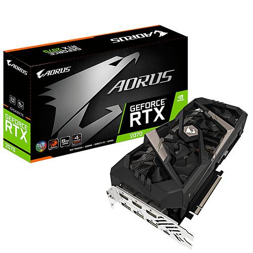 Gigabyte AORUS GeForce RTX 2070 8G pas cher