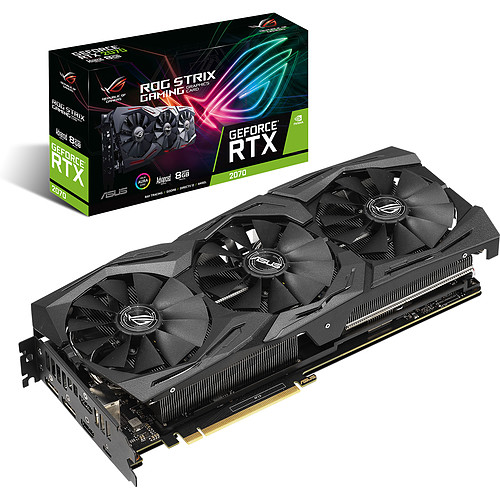 ASUS GeForce RTX 2070 ROG-STRIX-RTX2070-A8G-GAMING pas cher