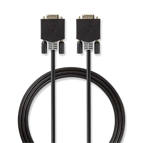 Nedis câble VGA haute qualité mâle / mâle (2 mètres) pas cher