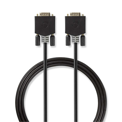 Nedis Câble VGA haute qualité mâle / mâle (5 mètres) pas cher