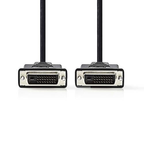 Nedis Câble DVI-D (3 mètres) pas cher