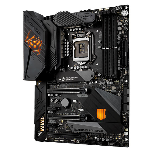 ASUS MAXIMUS XI HERO (WI-FI) - Call of Duty Edition Black Ops 4 Edition pas cher
