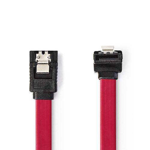 Nedis Câble SATA coudé avec verrou (50 cm) pas cher