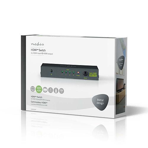 Nedis Switch HDMI 4K @60Hz (4 ports) pas cher