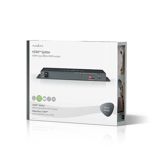 Nedis Splitter HDMI 4K - 8 ports pas cher