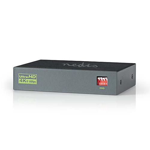 Nedis Splitter HDMI 4K@60Hz - 2 ports pas cher