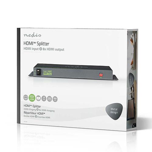 Nedis Splitter HDMI 4K@60Hz - 8 ports pas cher