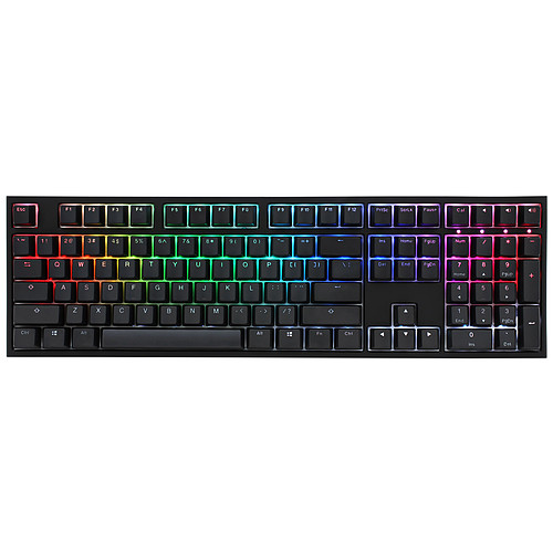 Ducky Channel One 2 RGB (Cherry MX RGB Speed Silver) pas cher