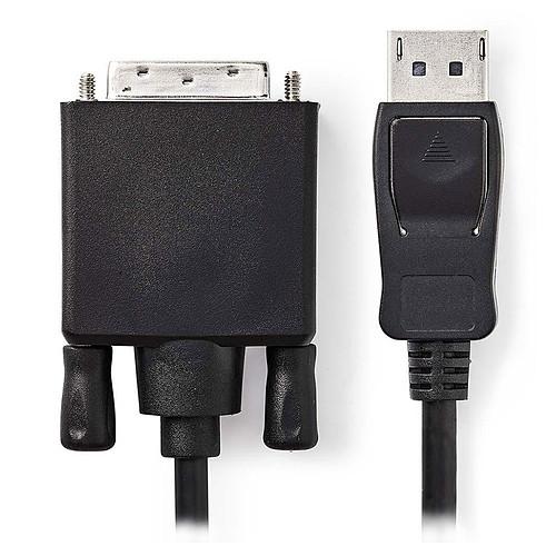 Nedis Câble DisplayPort mâle vers DVI-D mâle (1 m) pas cher