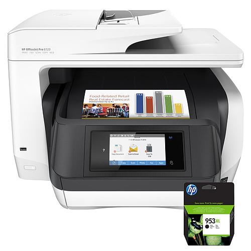 HP Officejet Pro 8720 + Cartouche 953XL Noir - L0S70AE pas cher