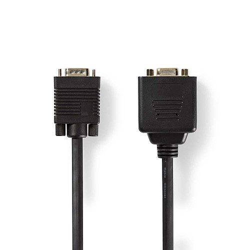 Nedis Câble VGA mâle vers 2 VGA femelles pas cher