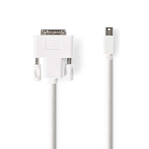Nedis Cordon mini DisplayPort Mâle vers DVI-D pas cher
