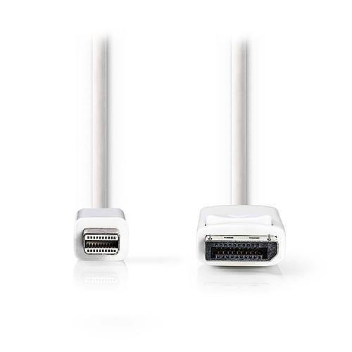 Nedis Câble Mini DisplayPort mâle vers DisplayPort mâle pas cher