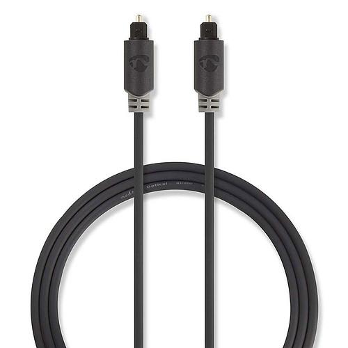 Nedis Câble Audio Optique - 3m pas cher
