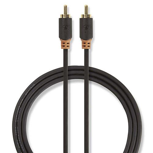 Nedis Câble Audio Numérique RCA - 2m pas cher