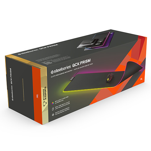 SteelSeries QcK Prism Cloth (Extra Large) pas cher