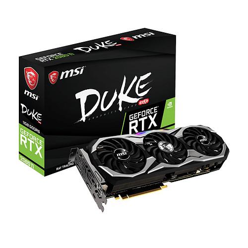 MSI GeForce RTX 2080 Ti DUKE 11G pas cher