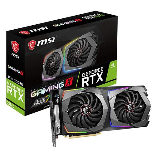 MSI GeForce RTX 2070 GAMING X 8G pas cher