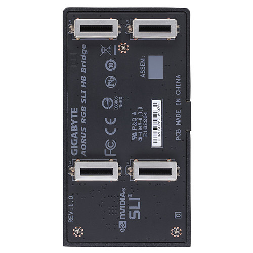 Aorus SLI HB bridge RGB - 1 Slot pas cher
