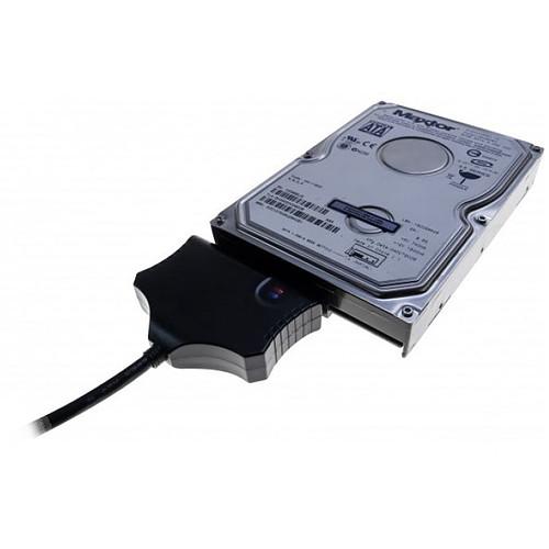 """Dexlan Adaptateur auto-alimenté USB 3.0 / SATA 3.5"""" - 2.5"""" pas cher"""