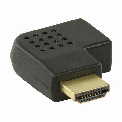 Nedis Adaptateur HDMI mâle / HDMI femelle (coudé gauche) pas cher