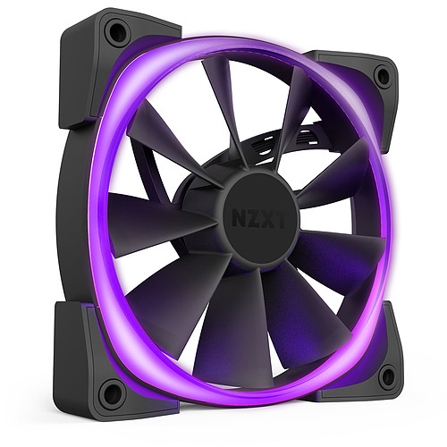 NZXT Aer RGB 2 Twin Starter 120 mm pas cher