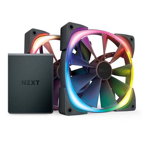 NZXT Aer RGB 2 Twin Starter 140 mm pas cher