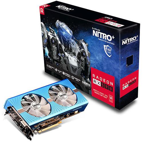 Sapphire NITRO+ Radeon RX 590 8GD5 Special Edition pas cher