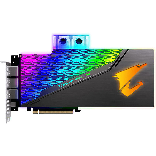 Gigabyte AORUS GeForce RTX 2080 XTREME WATERFORCE WB 8G pas cher