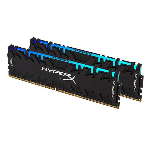 HyperX Predator RGB 16 Go (2x 8 Go) DDR4 4000 MHz CL19 pas cher