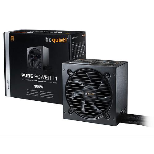 be quiet! Pure Power 11 300W 80PLUS Bronze pas cher