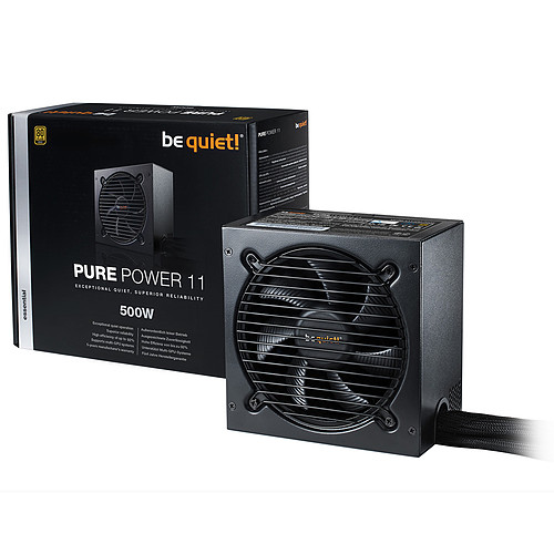 be quiet! Pure Power 11 500W 80PLUS Gold pas cher