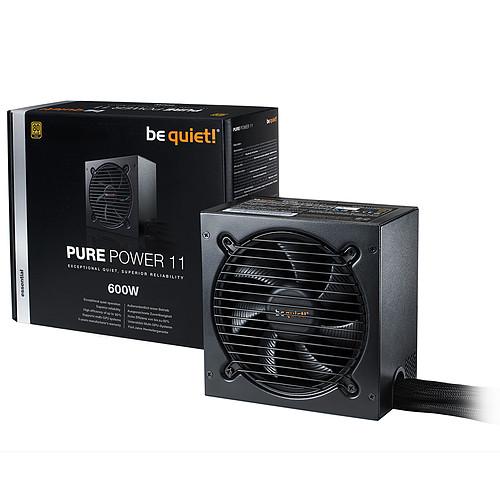 be quiet! Pure Power 11 600W 80PLUS Gold pas cher