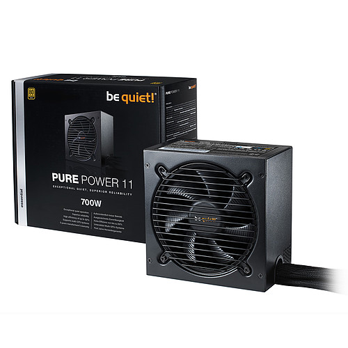 be quiet! Pure Power 11 700W 80PLUS Gold pas cher