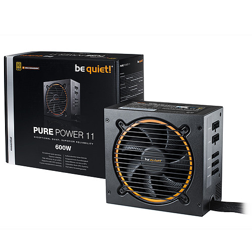 be quiet! Pure Power 11 600W CM 80PLUS Gold pas cher