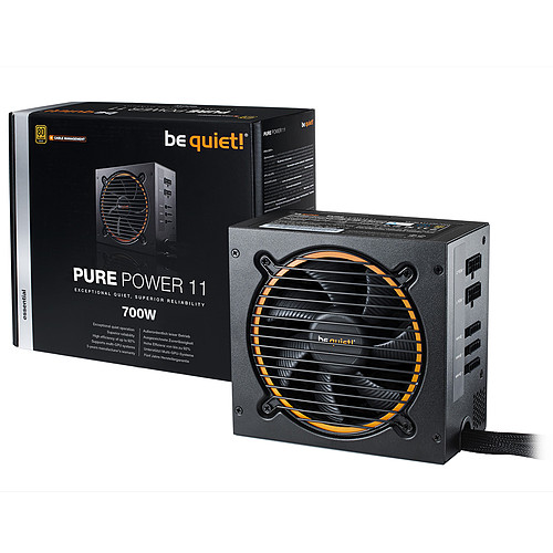 be quiet! Pure Power 11 700W CM 80PLUS Gold pas cher
