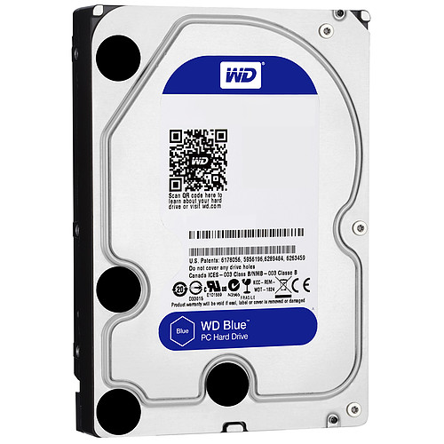 Western Digital WD Blue 6 To SATA 6Gb/s 64 Mo pas cher