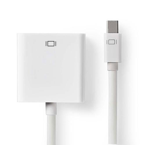 Nedis Câble mini DisplayPort mâle vers VGA femelle (20 cm) pas cher