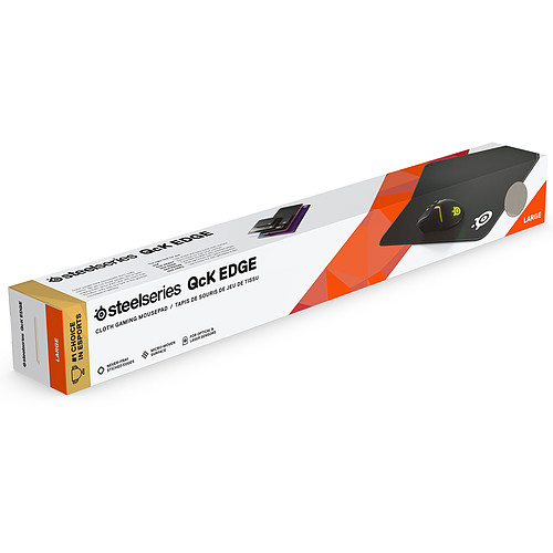 SteelSeries QcK Edge (Large) pas cher