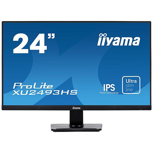 "iiyama 23.8"" LED - ProLite XU2493HS-B1 pas cher"