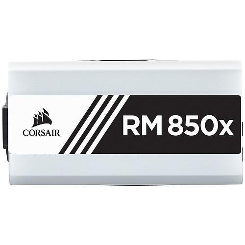 Corsair RM850x White 80PLUS Gold pas cher