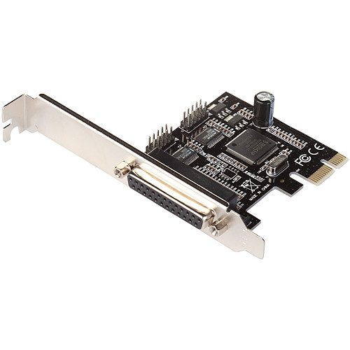 i-tec PCI-Express Card 2x Serial RS232 + 1x Parallel DB25 (PCE2S1) pas cher