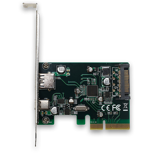 i-tec PCI-E USB 3.1 Gen.2 10 Gbps Card (PCE2U31AC) pas cher