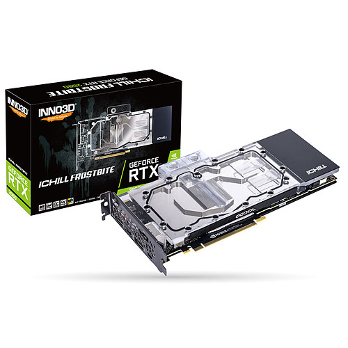 INNO3D GeForce RTX 2080 iCHILL FROSTBITE pas cher