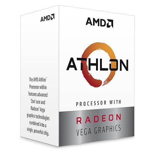 AMD Athlon 200GE (3.2 GHz) avec mise à jour BIOS pas cher