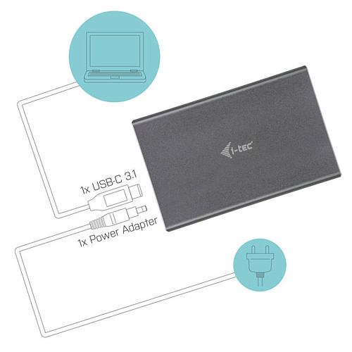 i-tec MySafe USB-C / USB-A pas cher
